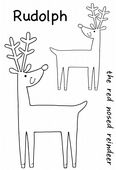 Woodware - Cheeky Reindeer - Clear Magic Singles Stamp Set - JGS539